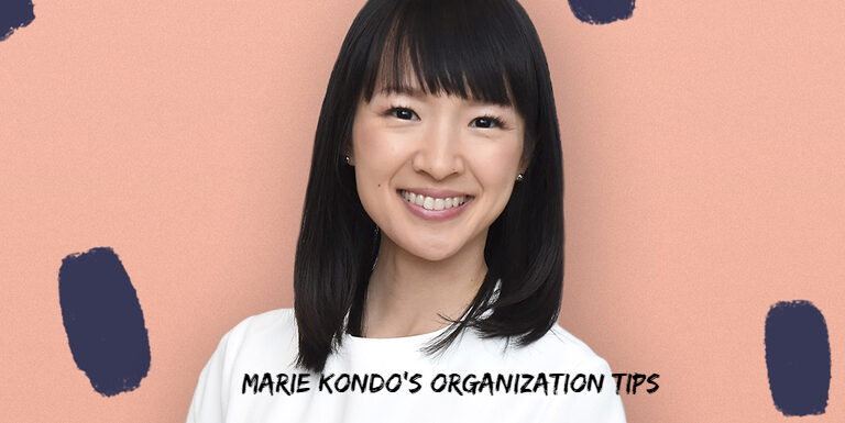 Things I Learnt from Marie Kondo's Organization Tips