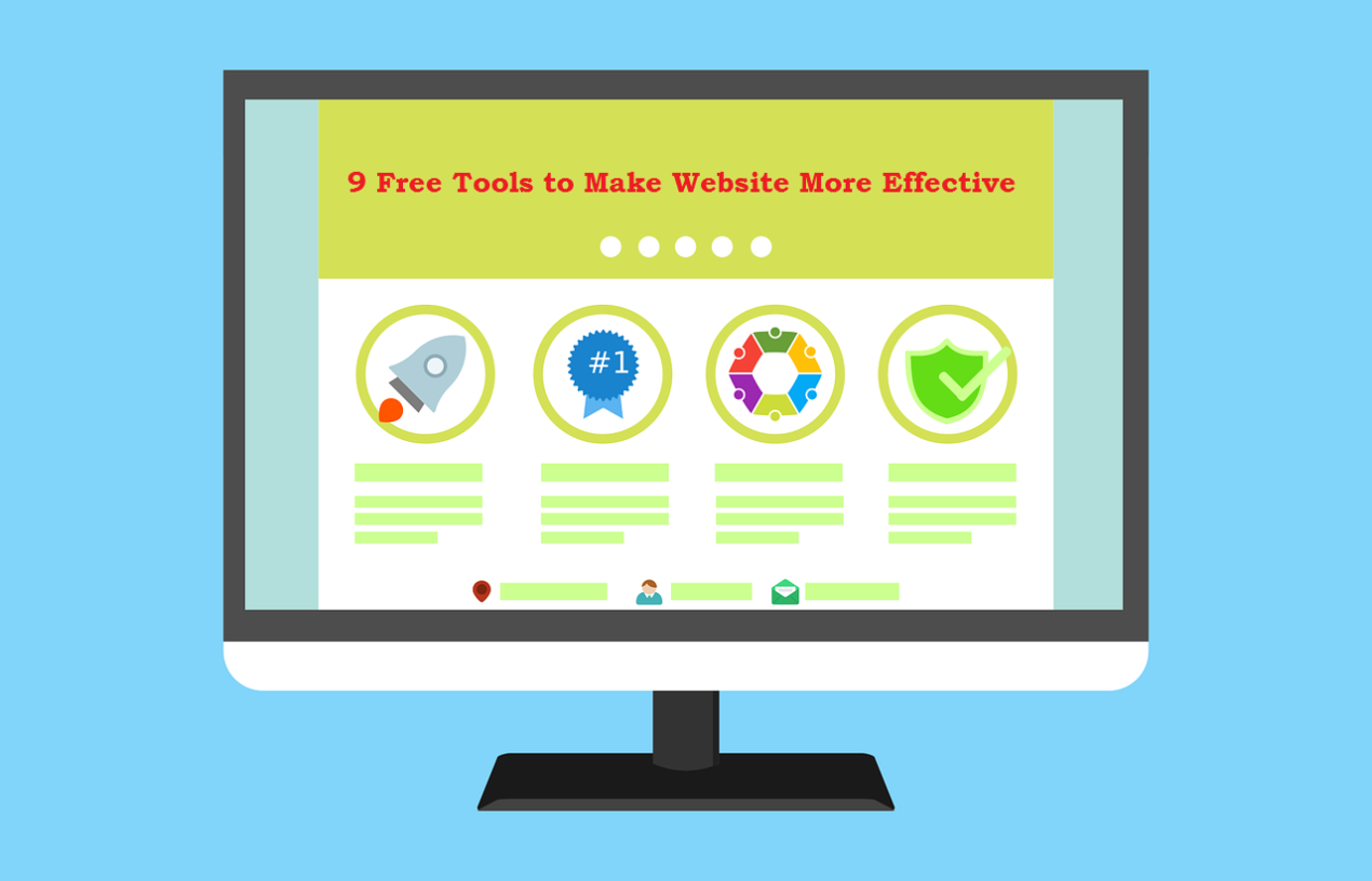 9 Free Tools to Make Website More Effective
