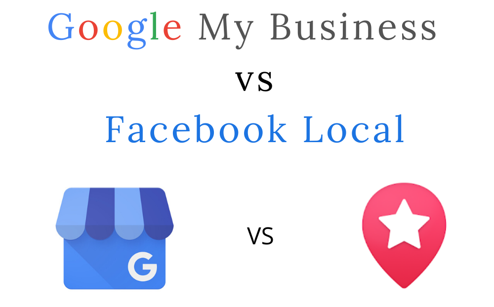 GMB compared to Facebook Local