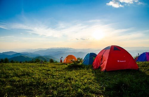 FIRST CAMPING EXPERIENCE – NOV 2020